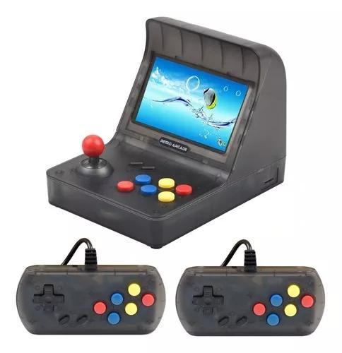 Retro arcade portátil com 3000 games e saída para tv