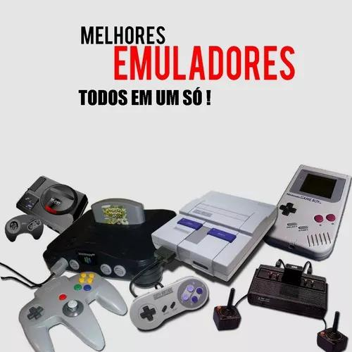 Retro game no pc jogue nintendinho snes 64 mega drive ps1