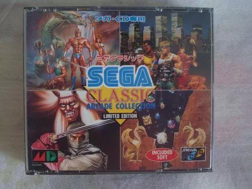 Sega classic arcade collection - mega cd jogo original game
