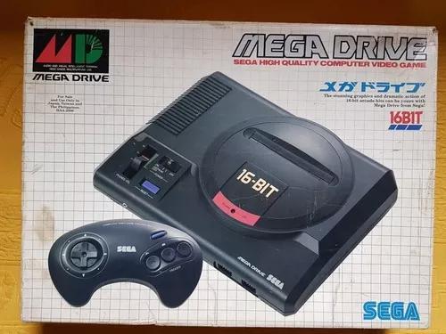 Sega mega drive japonês completo com jogos originais