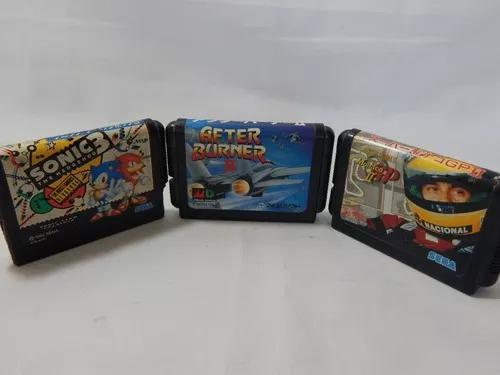 Sega -mega drive monaco ii sonic 3 after burner ii (ta 25)