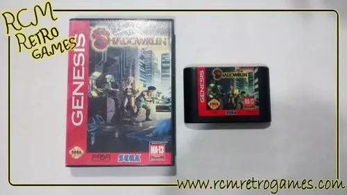 Shadowrun mega drive genesis original
