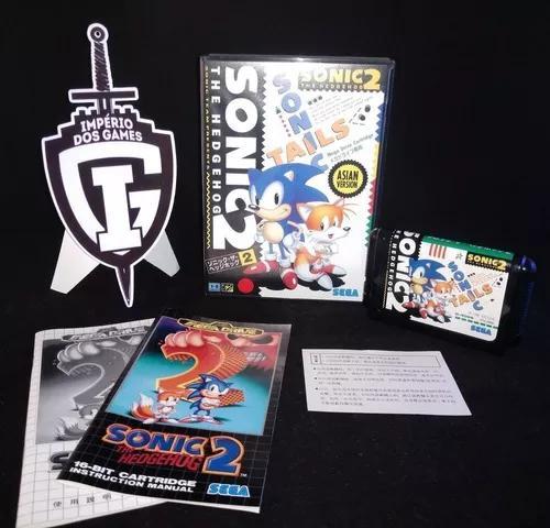 Sonic 2 - mega drive - completo - original - japonês