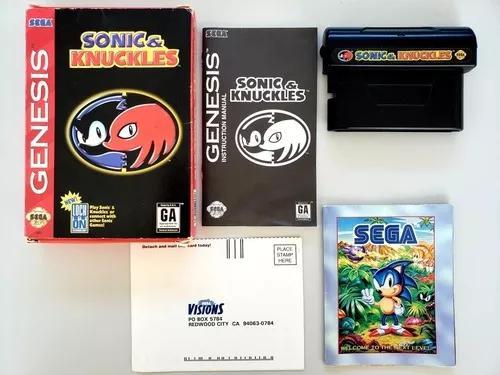 Sonic & knuckles original sega genesis mega drive