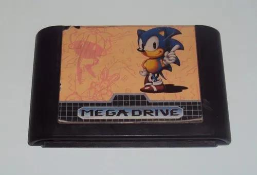 Sonic original tec toy para mega drive