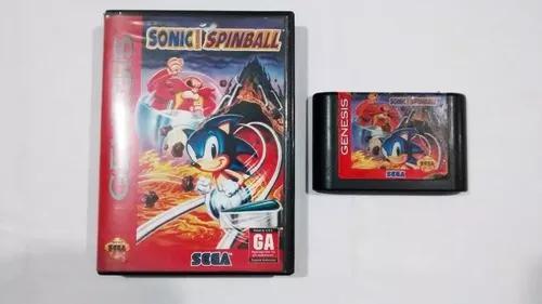 Sonic spinball original - mega drive / genesis