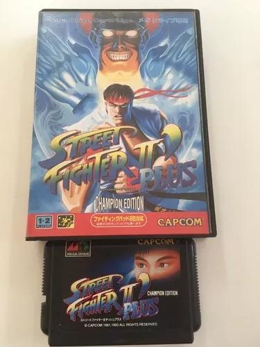 Street fighter 2 plus mega drive japones original - madgames