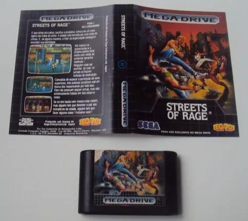 Streets of rage original tec toy para mega drive