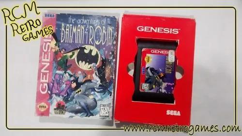 The adventures of batman & robin mega drive genesis original