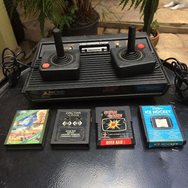 Atari 2600 - funcionando perfeitamente