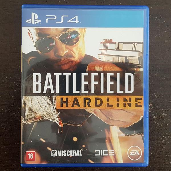 Battlefield hardline ps4 seminovo