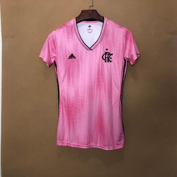 Camisa flamengo feminina outubro rosa 2019