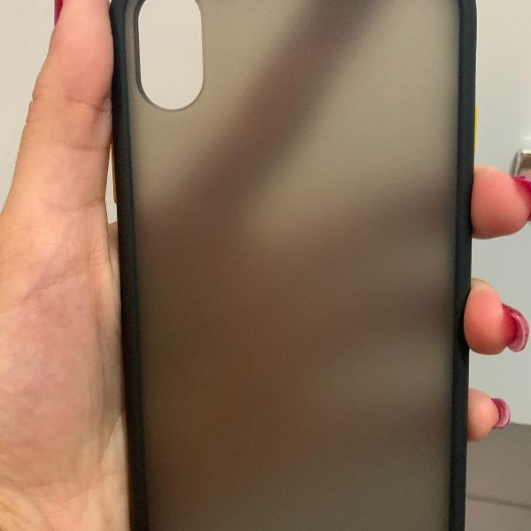 Capa martepreta super protetora iphone xr