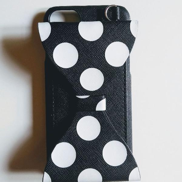 Case capa disney para celular iphone 6/7/8 com porta