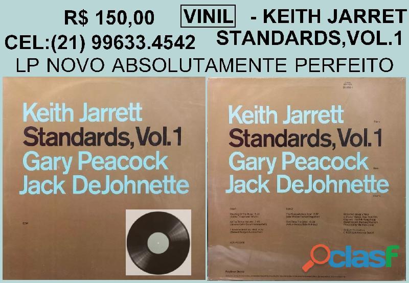 Disco de vinil keith jarret   novo   nunca foi para um toca disco