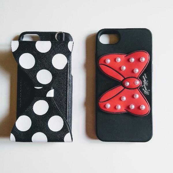 Kit dois cases capas disney iphone 6/7/8