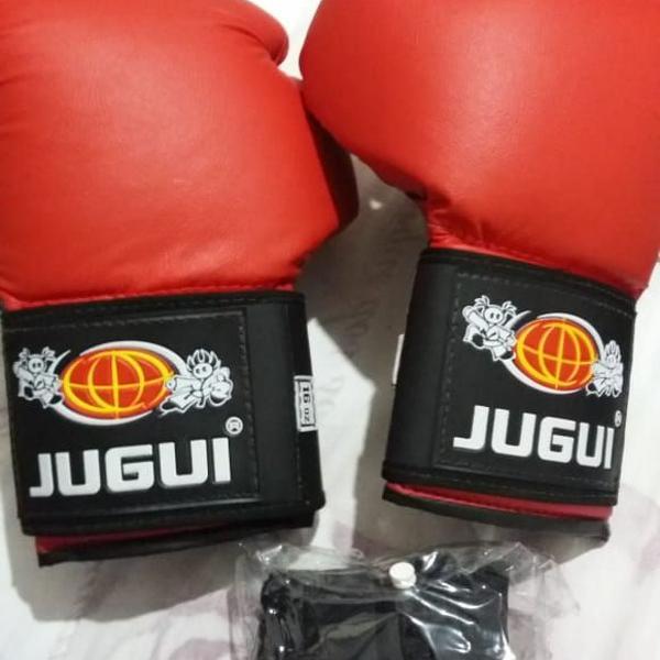 Luva boxe muay thai e kickboxing + bandagem