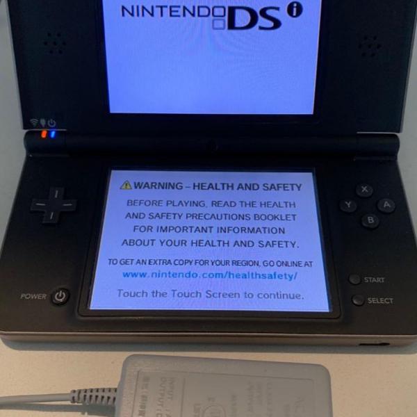Nintendo ds xl preto