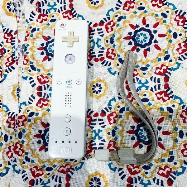 Nintendo wii remote control branco