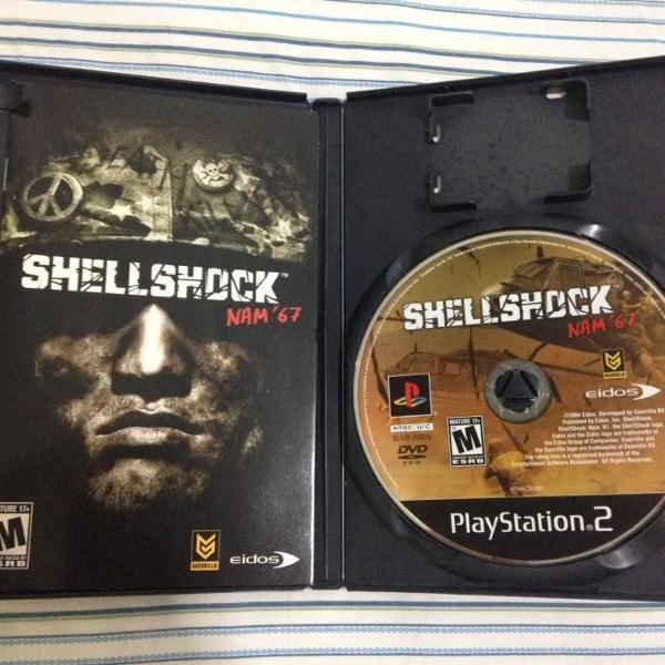 Playstation 2 shell shock nam' 67 original midia fisica r$99