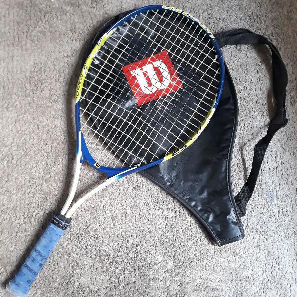 Raquete de tênis juvenil wilson