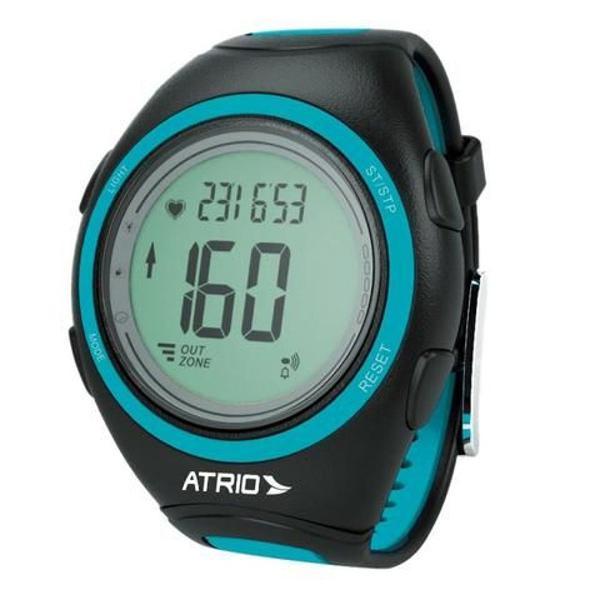 Relógio monitor cardíaco atrio frequencímetro calorias