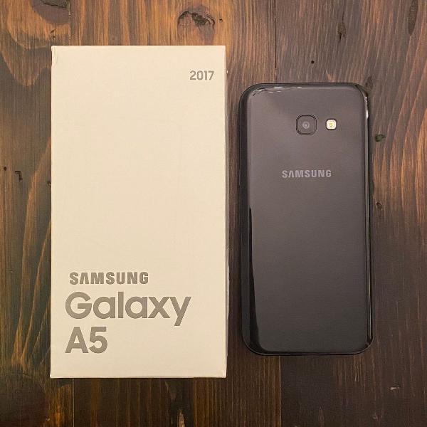 Samsung galaxy a5 2017 64 gb preto