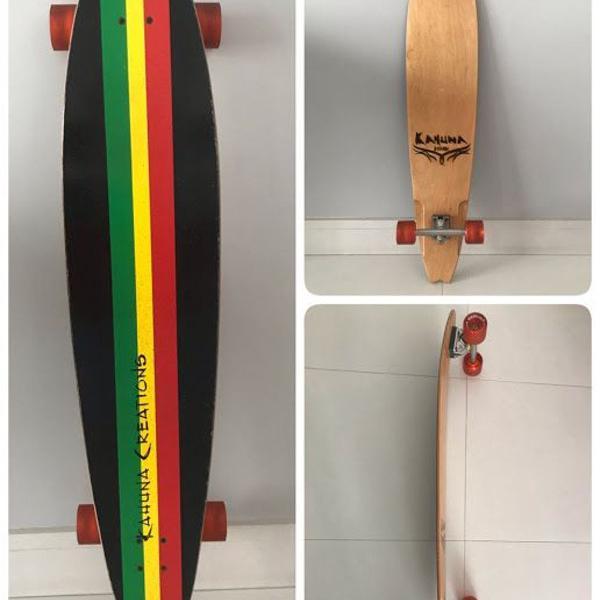 Skate longboard retrofish - kahuna creations