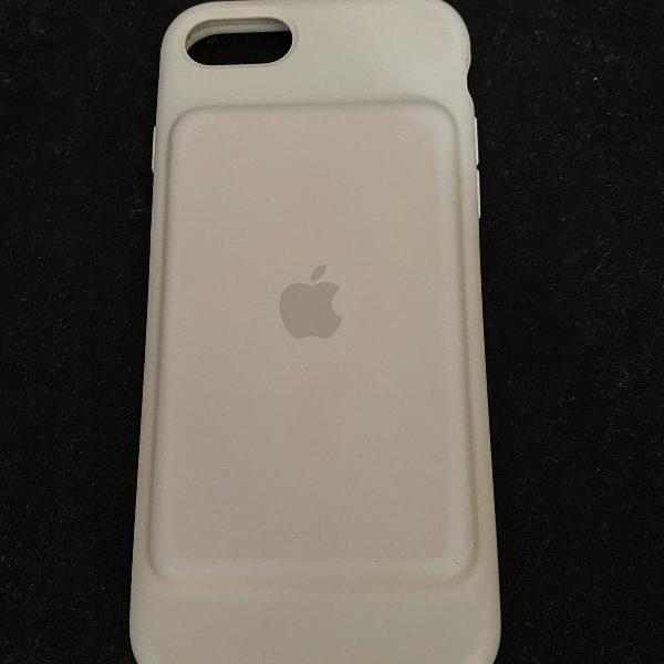 Smart battery case para iphone 7 branco