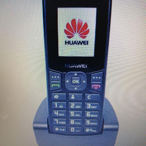Telefone fixo gsm sem fio de chip