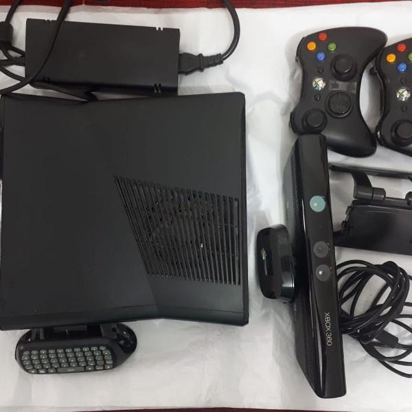 Xbox 360 250gb + acessórios