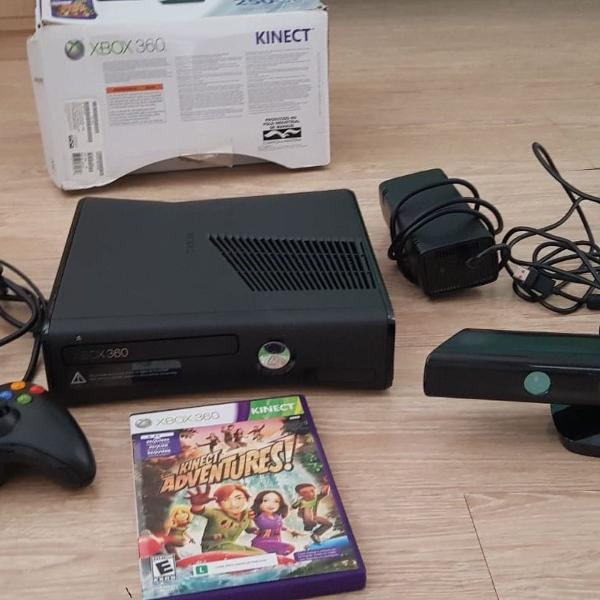 Xbox 360 com kinect 250 gb