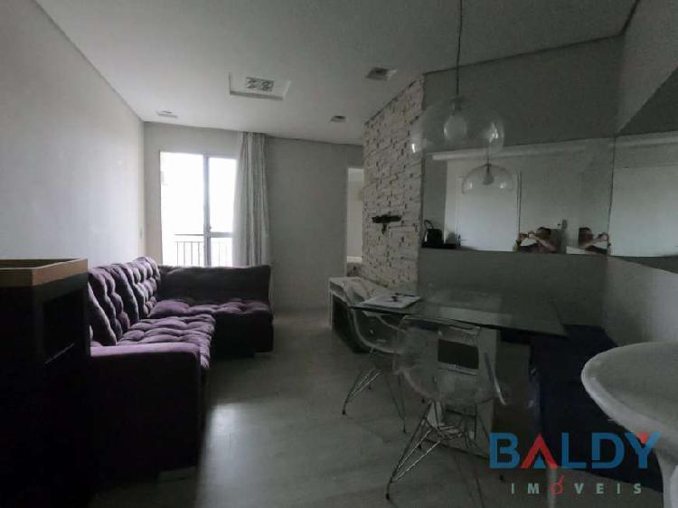 Apartamento 2 dormitórios mobiliado 1 vaga 68 m² são