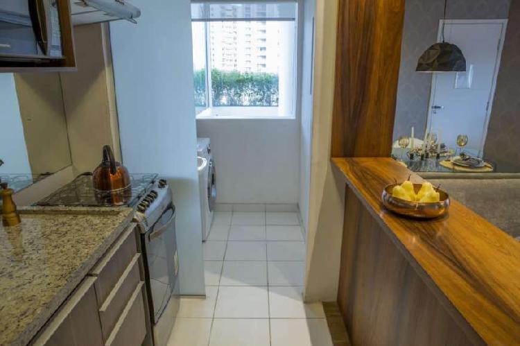 Apartamento pronto para morar de 51m com 2 dorm + sacada + 2