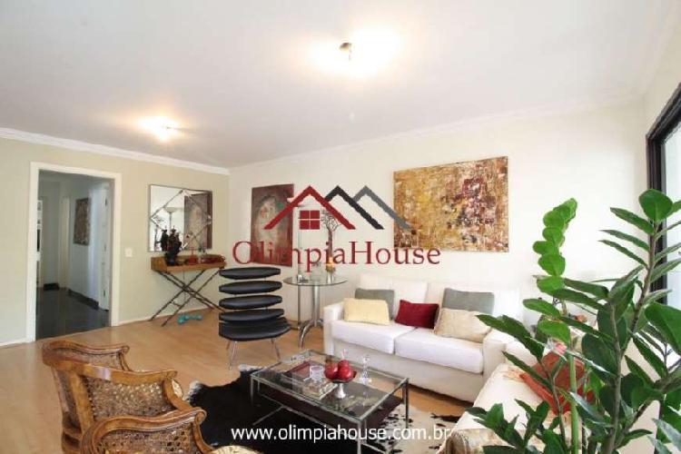Apartamento à venda com 147m² - cerqueira cesar, sp.