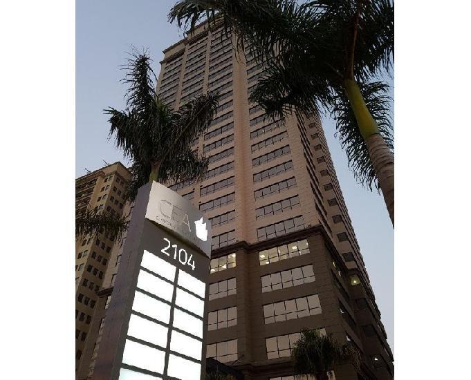 Conjuntos a partir de 677 m² para locação cea corporate