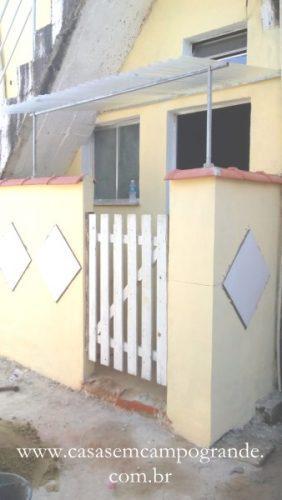 Rj – campo grande – casa linear térrea 1 quarto/sala