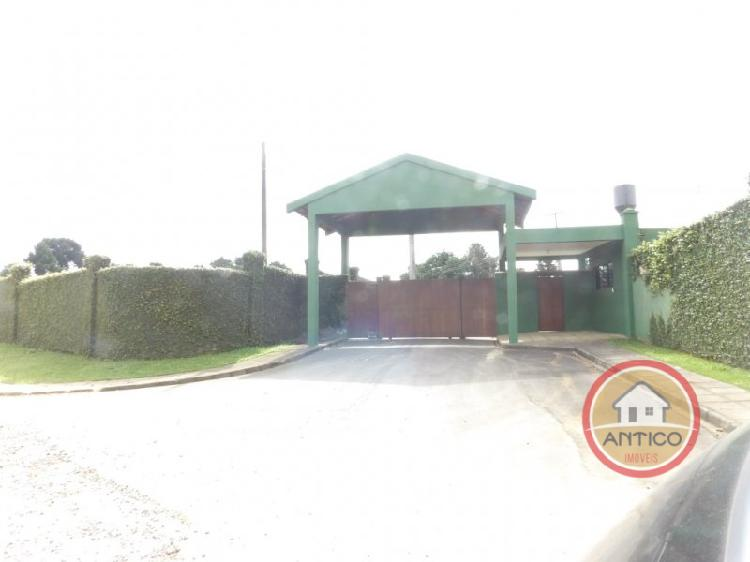 Terreno em condomínio fechado a apenas 11 km do parque