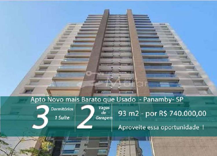 Venda rápida – menor preço de apartamento com 93 m² no