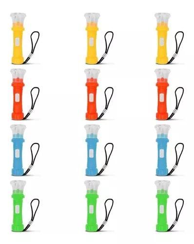 10 chaveiros lanternas mini de led l