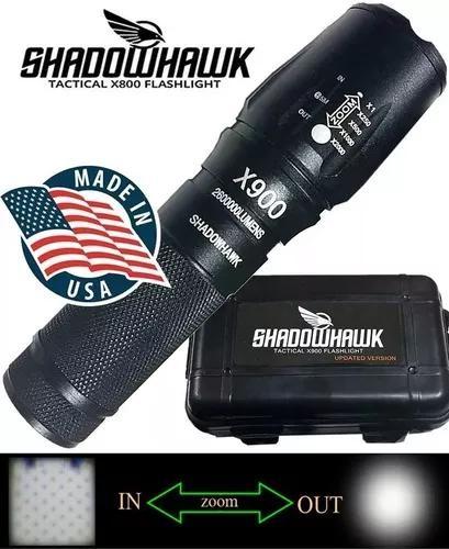 2 lanterna shadowhank x900 original caixa +1 bat extra-c/nfe