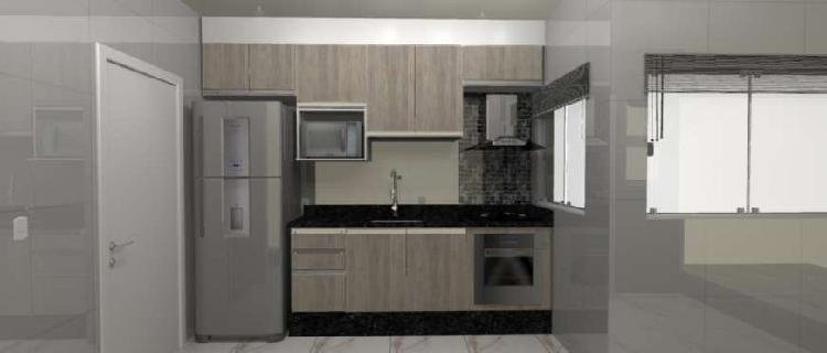 Apartamento 3 dorms, 1 suíte, condomínio residencial