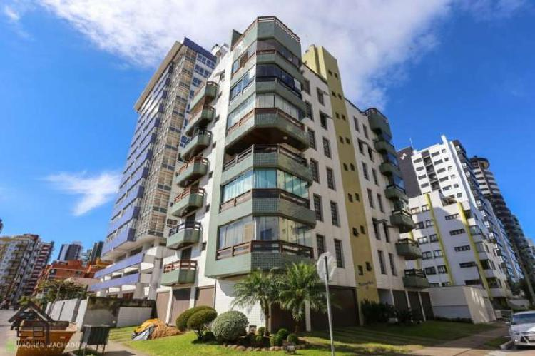 Apartamento 3 dorm, mobiliado, praia grande, torres, rs - eb