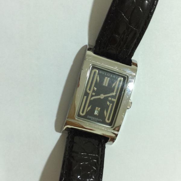 Bulgari - relógio masculino original perfeito