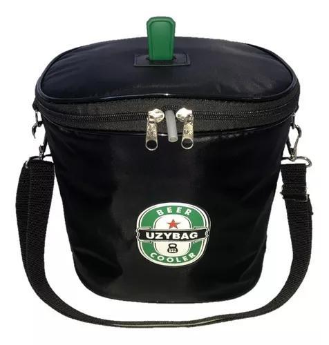 Bolsa térmica para barril de chopp 5 litros c/ espaço gelo