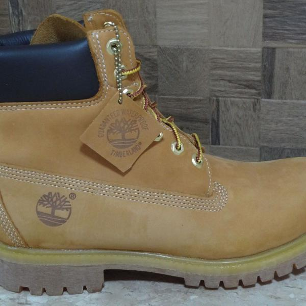 Bota timberland yellow boot bege palha wtpf original import.