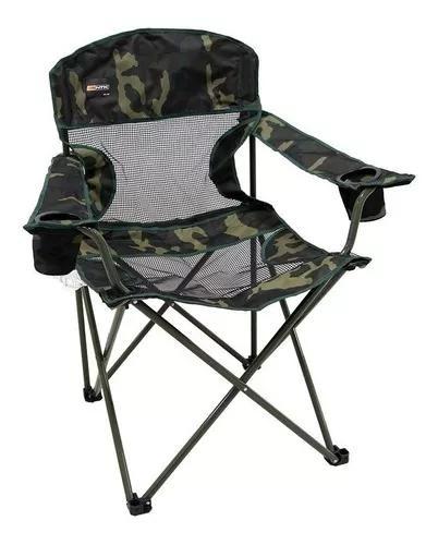 Cadeira dobrável fresno camuflada camping pesca ntk c/
