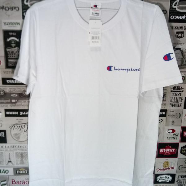 Camiseta champion 100% algodão tm gg branca