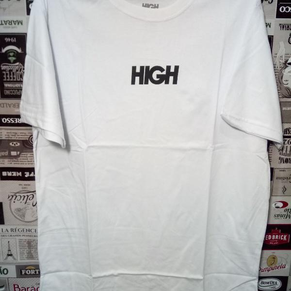 Camiseta high 100% algodão tm gg branca