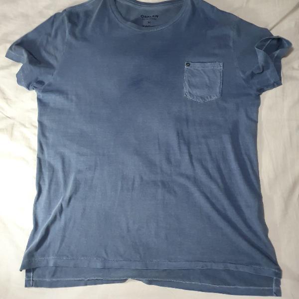 Camiseta osklen m azul